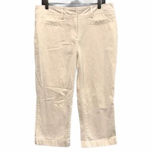 White Tommy Hilfiger ankle cropped pants size 14
